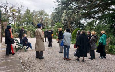 """Associazione Culturale """"Il salotto delle Arti"""" – Visita di studio agli interni e al giardino del Villino Volterra"""