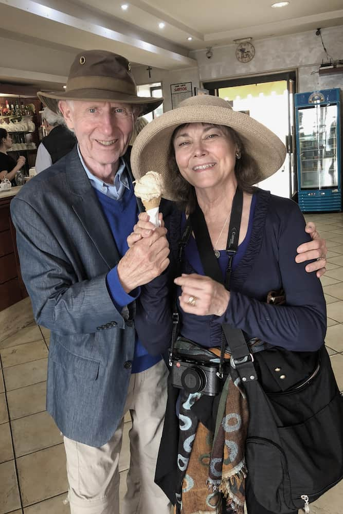 Diane and Ted - Gelato