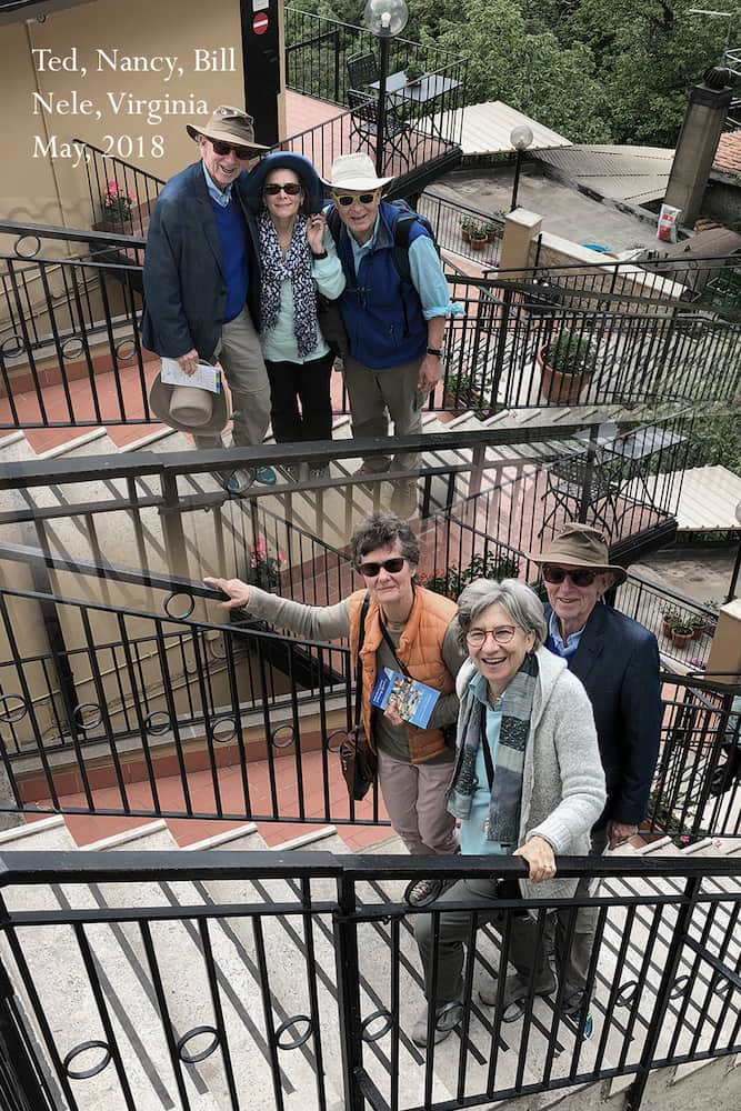 Ted, Nancy, Bill, Nele and Virginia
